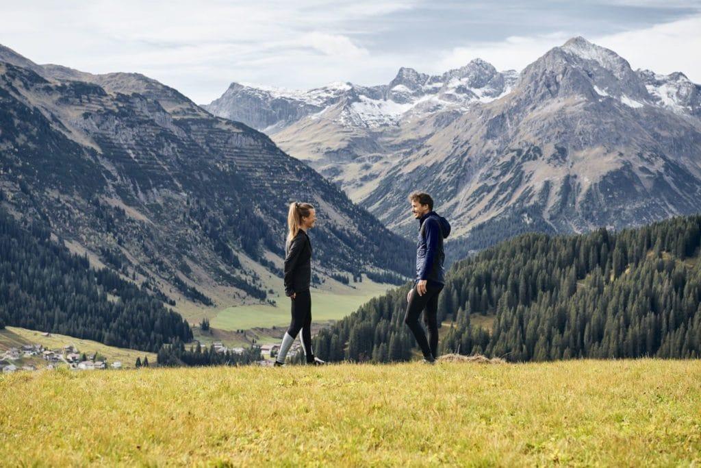 Arlberg im Sommer